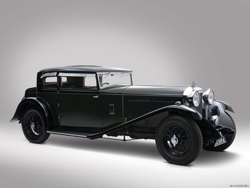 Интерьер Bentley 8 Litre Short Chassis Mayfair Fixed Head Coupe '1932
